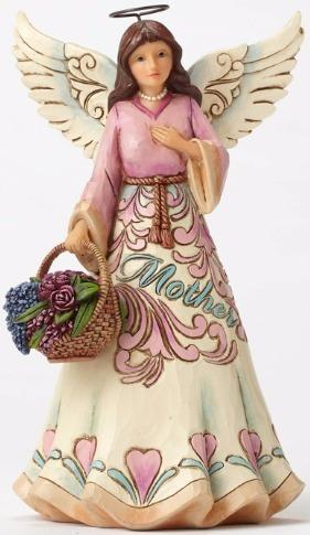 Jim Shore 4052053 Mother Angel Figurine