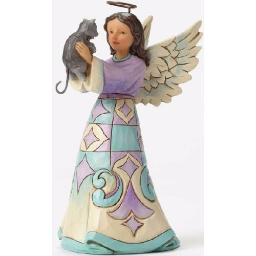 Special Sale 4052057 Jim Shore 4052057 Angel with Cat Pint Size
