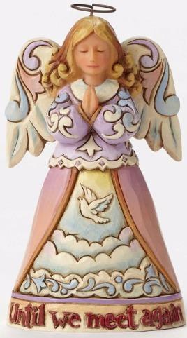 Jim Shore 4052070 Bereavement Angel Figurine