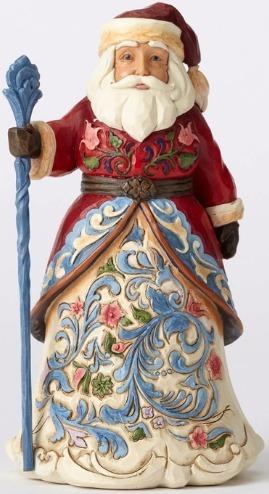 Jim Shore 4053705 Norwegian Santa Figurine