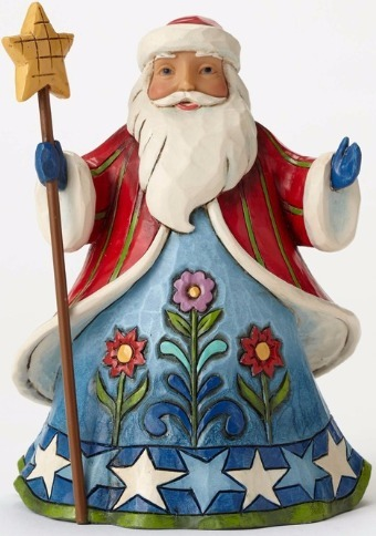 Jim Shore 4053819 Pint Santa Sta Figurine