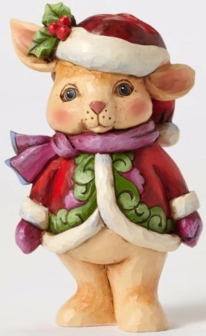Jim Shore 4053822 Pint Christmas Bunny Figurine
