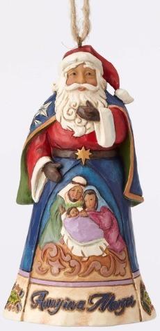 Jim Shore 4053832 Away In A Manger Sa Ornament