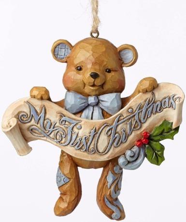 Jim Shore 4053852 Baby's 1st Christma Ornament