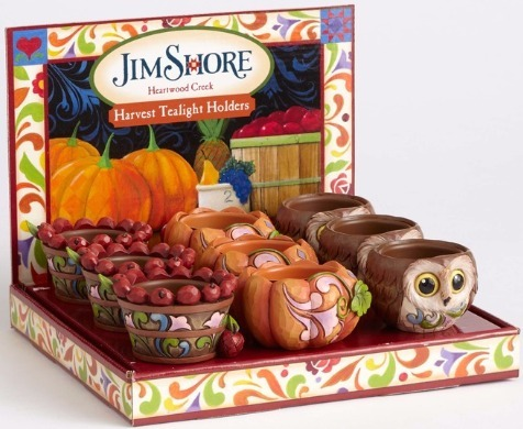 Jim Shore 4053859 Harvest Candleholder