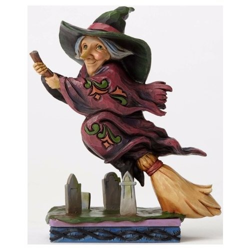 Special Sale 4053867 Jim Shore 4053867 Flying Witch Pint Size