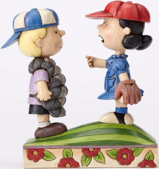 Jim Shore Peanuts 4054082 Baseball Schroeder