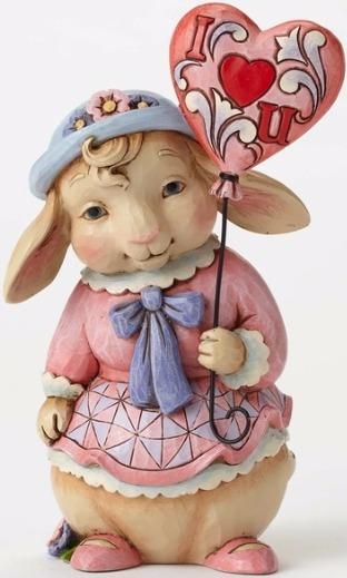 Jim Shore 4054533 3rd Annual Love Bun Figurine