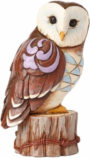 Jim Shore 4055064 Owl Mini Figurine
