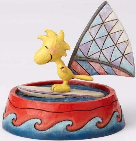 Jim Shore Peanuts 4055656 Woodstock Windsurfing