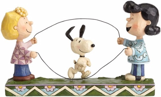 Jim Shore Peanuts 4055659 Sally Lucy & Snoopy