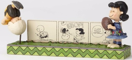 Jim Shore Peanuts 4055661 Charlie Brown with Comic