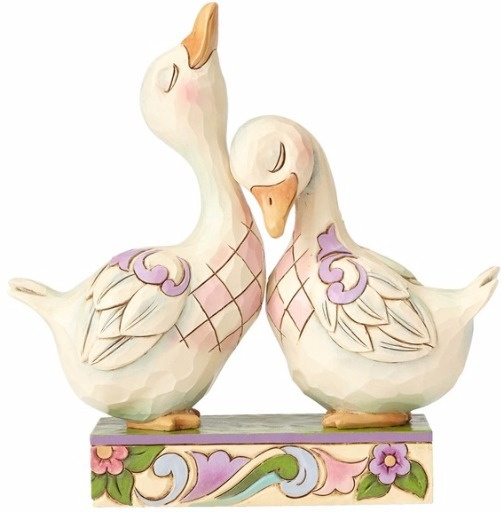 Jim Shore 4056942 Double Ducklings Figurine