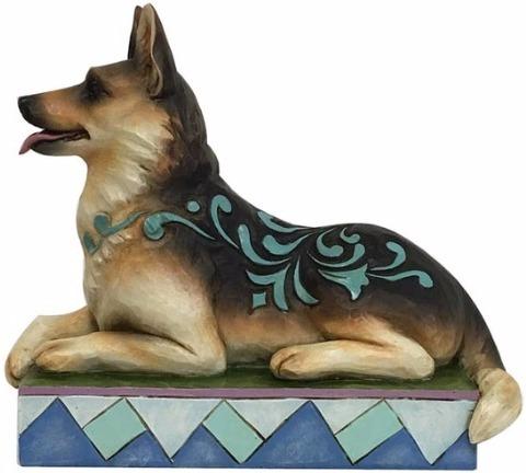 Jim Shore 4056957 German Shepherd Figurine