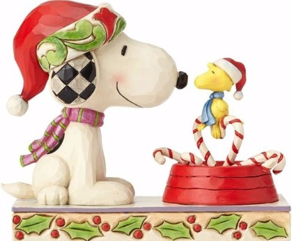 Jim Shore Peanuts 4057678 Snoopy & Woodstock with