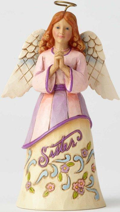 Jim Shore 4057687 Pint Sister Angel Figurine