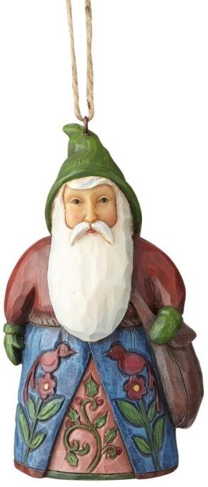 Jim Shore 4058771 Santa Bag Ornament