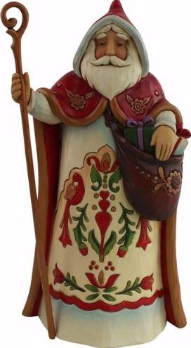Jim Shore 4058792 Austrian Santa