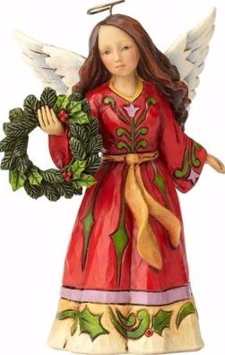 Jim Shore 4058806 Pint Angel Wreath