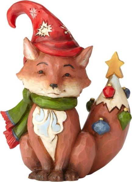 Special Sale 4058808 Jim Shore 4058808 Christmas Fox Mini Figurine