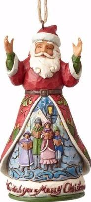 Jim Shore 4058813 We Wish You Merry Xmas