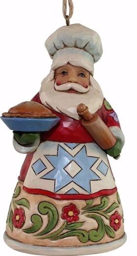 Jim Shore 4058818 Culinary Santa