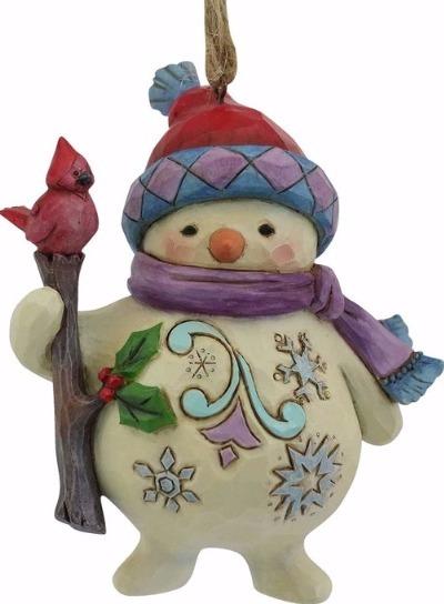 Jim Shore 4058822 Short Round Snowman