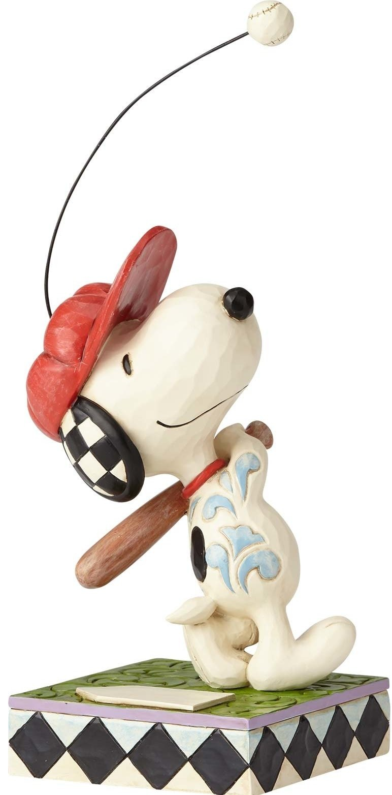 Jim Shore Peanuts 4059433 Snoopy Baseball