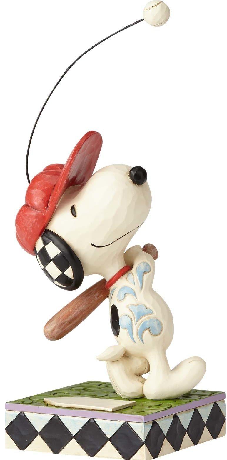 Jim Shore Peanuts 4059433 Snoopy Baseball