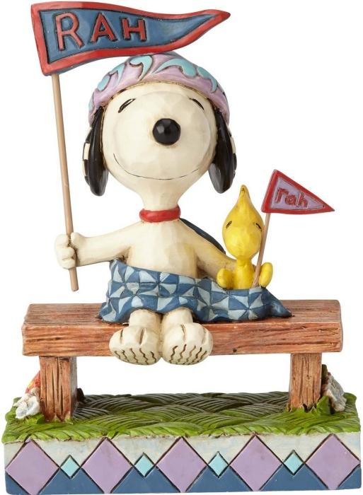 Jim Shore Peanuts 4059437 Snoopy and Woodstock
