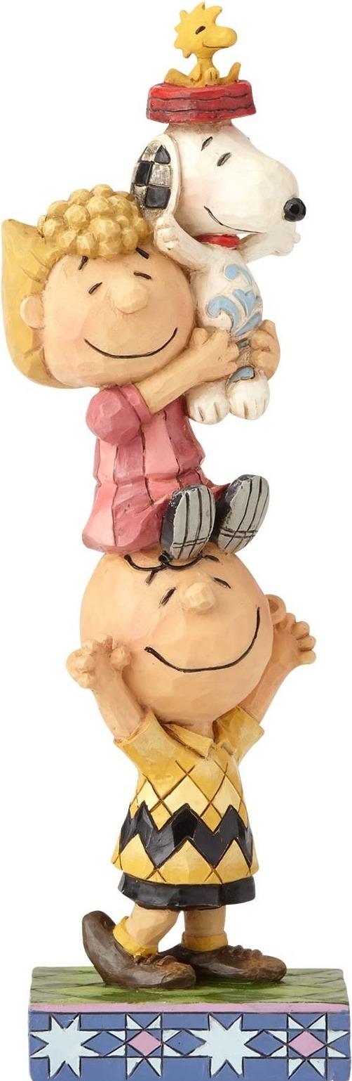 Jim Shore Peanuts 4059440 Peanuts Characters Stack