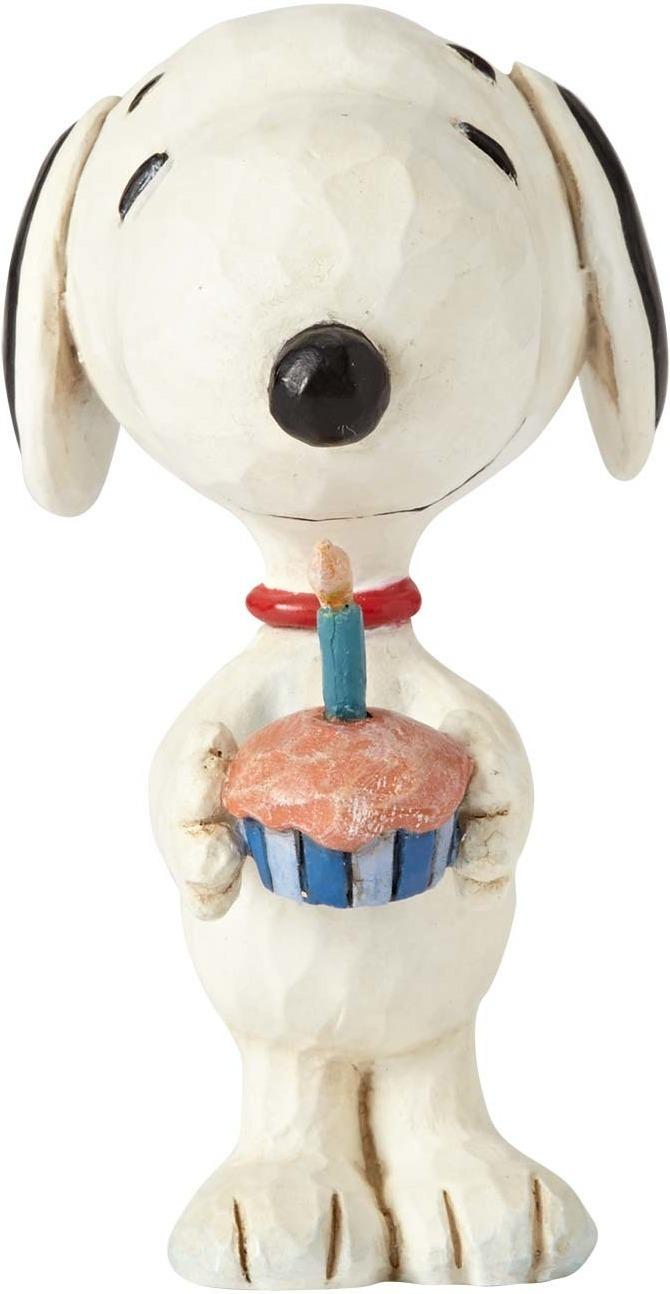Jim Shore Peanuts 4059441 Snoopy Birthday Mini