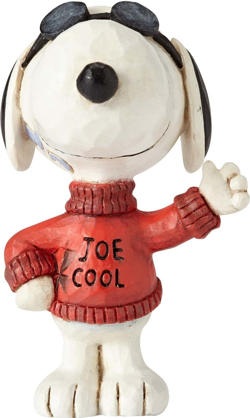 Peanuts by Jim Shore 4059443 Joe Cool Snoopy Mini