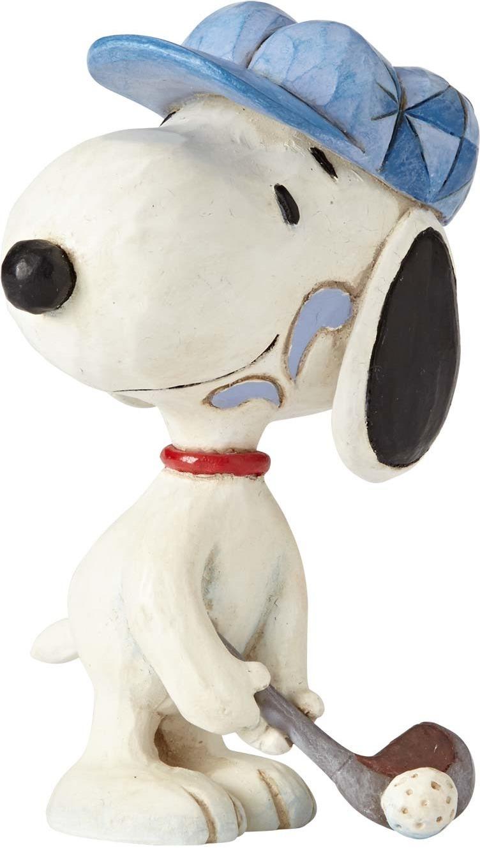 Jim Shore Peanuts 4059444 Snoopy Golfer Mini