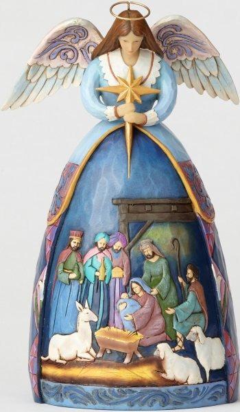 Jim Shore 4059760 Angel Nativity
