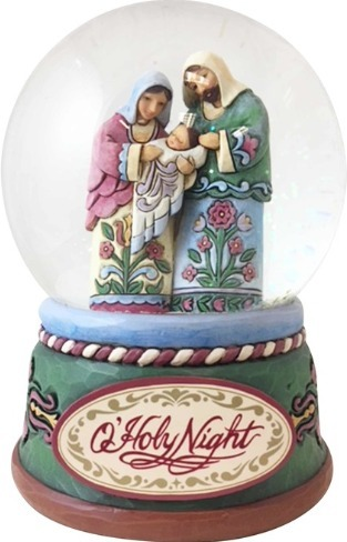 Jim Shore 4060586 Holy Family Waterball