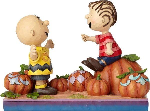 Jim Shore Peanuts 6000980 Charlie Brown and Linus