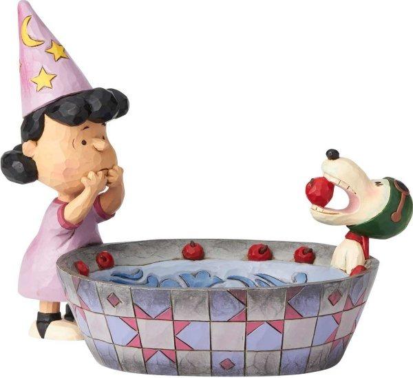 Jim Shore Peanuts 6000982 Halloween Candy Dish