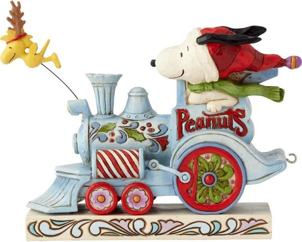 Jim Shore Peanuts 6000987 Christmas Train 1