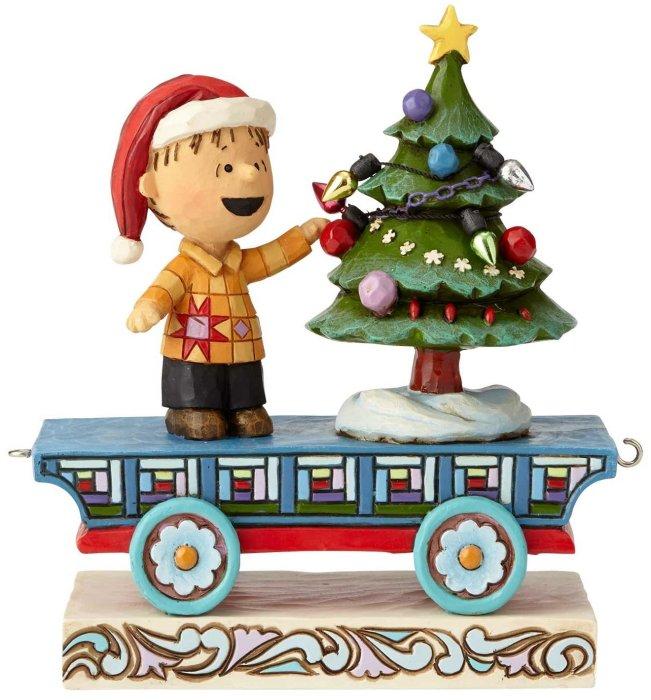 Jim Shore Peanuts 6000990 Peanuts Train 4 Linus