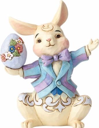Jim Shore 6001080 Easter Bunny Mini