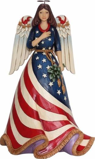 Jim Shore 6001084 Patriotic Angel