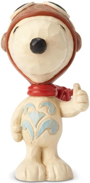 Jim Shore Peanuts 6001295 Snoopy Flying Ace Mini