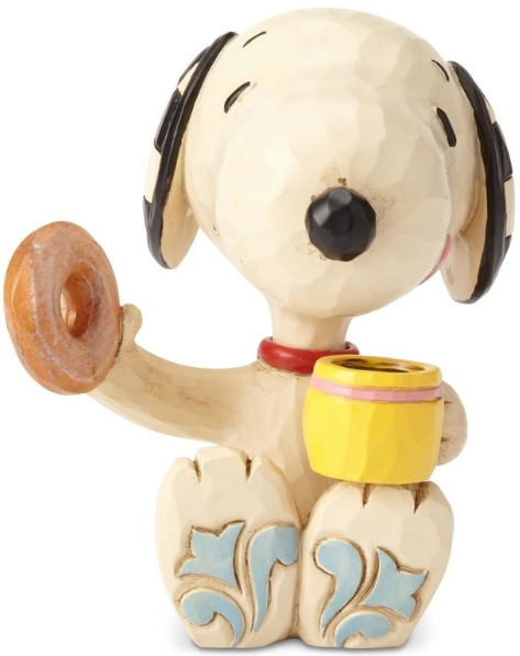 Special Sale 6001297 Jim Shore Peanuts 6001297 Snoopy Donut & Coffee Figurine