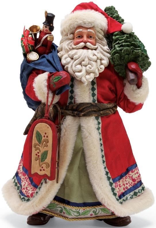 Jim Shore 6001340 Limited Edition Santa