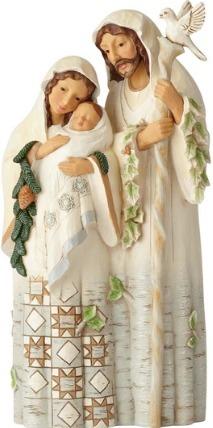 Jim Shore 6001413 Woodland Holy Family Figurine