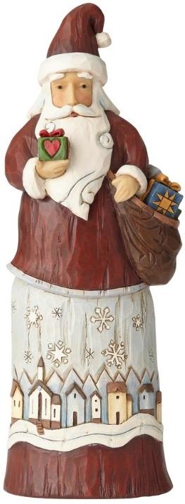 Jim Shore 6001443 Santa Gift