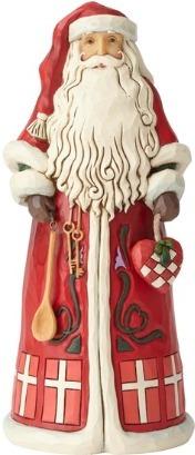 Jim Shore 6001475 Danish Santa Figurine