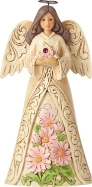 Special Sale 6001571 Jim Shore 6001571 October Angel Figurine