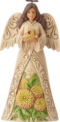 Jim Shore 6001572 Monthly Angel November Figurine